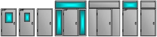 металлические входные двери на кладовку